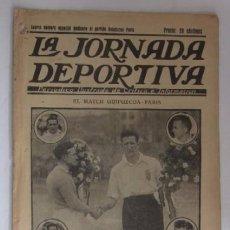 Coleccionismo deportivo: LA JORNADA DEPORTIVA - AÑO 1922 - NUMERO ESPECIAL DEDICADO AL PARTIDO GUIPUZCOA-CATALUÑA. Lote 56908666