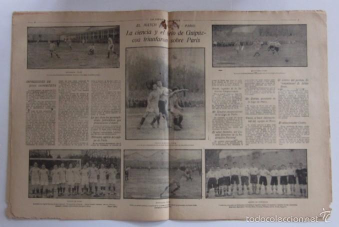 Coleccionismo deportivo: LA JORNADA DEPORTIVA - AÑO 1922 - NUMERO ESPECIAL DEDICADO AL PARTIDO GUIPUZCOA-CATALUÑA - Foto 3 - 56908666