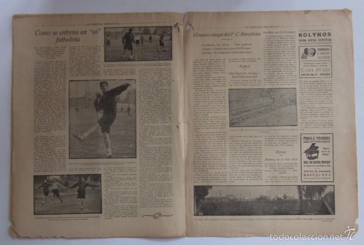 Coleccionismo deportivo: LA JORNADA DEPORTIVA - AÑO 1922 - NUMERO ESPECIAL DEDICADO AL PARTIDO GUIPUZCOA-CATALUÑA - Foto 4 - 56908666