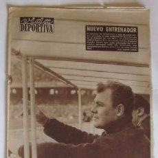 Coleccionismo deportivo: VIDA DEPORTIVA - AÑO 1961 - BARCELONA-ELCHE CON DEBUT DE KUBALA COMO ENTRENADOR. Lote 56911295