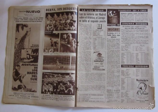Coleccionismo deportivo: VIDA DEPORTIVA - AÑO 1961 - BARCELONA-ELCHE CON DEBUT DE KUBALA COMO ENTRENADOR - Foto 4 - 56911295