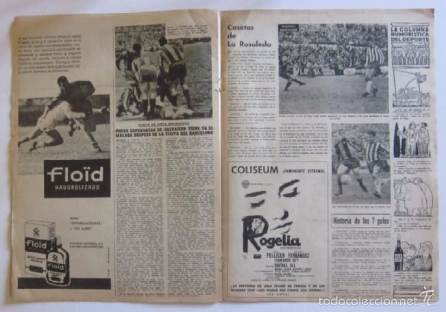 Coleccionismo deportivo: VIDA DEPORTIVA - AÑO 1963 - LA GOLEADA DEL BARCELONA POR 7 A O AL MALAGA - Foto 3 - 56911468