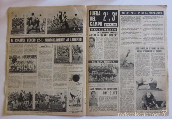 Coleccionismo deportivo: VIDA DEPORTIVA - AÑO 1963 - LA GOLEADA DEL BARCELONA POR 7 A O AL MALAGA - Foto 4 - 56911468