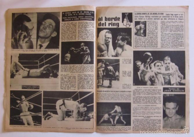 Coleccionismo deportivo: VIDA DEPORTIVA - AÑO 1963 - LA GOLEADA DEL BARCELONA POR 7 A O AL MALAGA - Foto 5 - 56911468