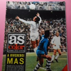 Coleccionismo deportivo: REVISTA AS COLOR Nº 155 POSTER ATLETICO DE MADRID FINALISTA COPA EUROPA 73/74 FINAL 1973/1974 BAYERN. Lote 57053149