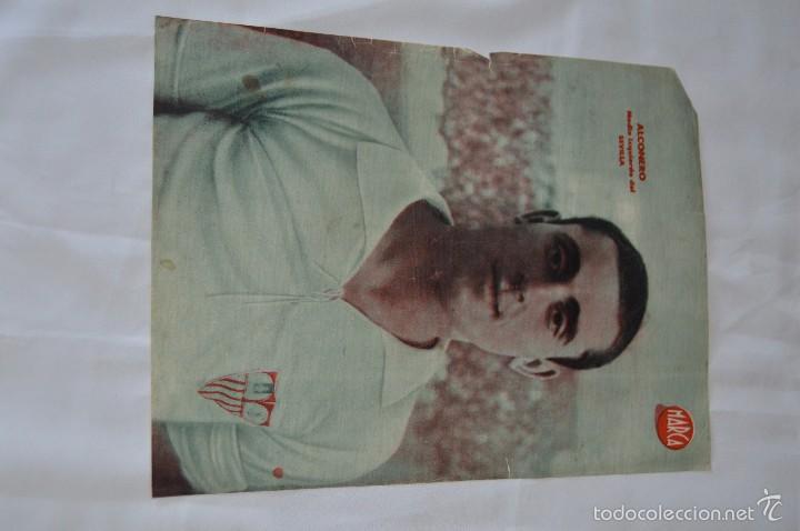 Coleccionismo deportivo: 7 Posters de MARCA de 1940s - y otros 4 de regalo - Asensi, Iriondo, Medrano, Martin, Bustos, Arza - Foto 2 - 57094140
