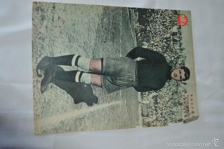 Coleccionismo deportivo: 7 Posters de MARCA de 1940s - y otros 4 de regalo - Asensi, Iriondo, Medrano, Martin, Bustos, Arza - Foto 3 - 57094140