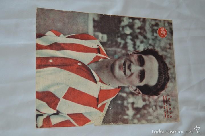 Coleccionismo deportivo: 7 Posters de MARCA de 1940s - y otros 4 de regalo - Asensi, Iriondo, Medrano, Martin, Bustos, Arza - Foto 5 - 57094140
