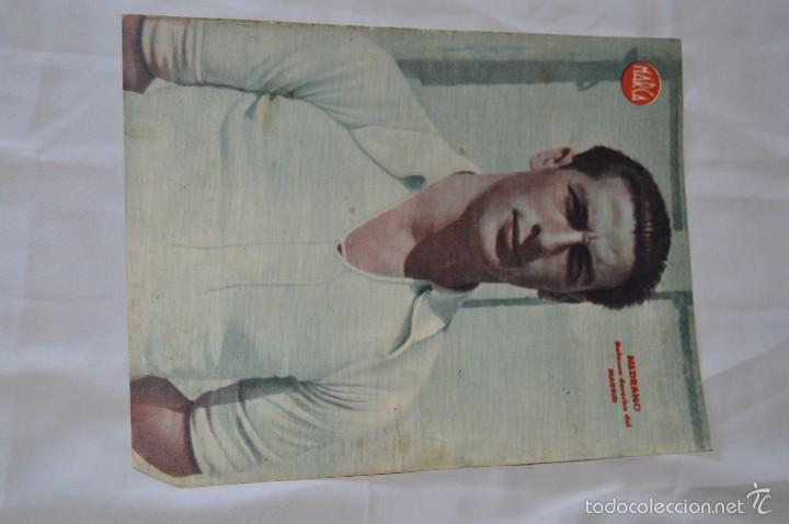 Coleccionismo deportivo: 7 Posters de MARCA de 1940s - y otros 4 de regalo - Asensi, Iriondo, Medrano, Martin, Bustos, Arza - Foto 6 - 57094140