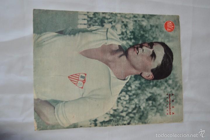 Coleccionismo deportivo: 7 Posters de MARCA de 1940s - y otros 4 de regalo - Asensi, Iriondo, Medrano, Martin, Bustos, Arza - Foto 7 - 57094140