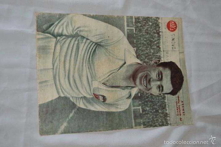 Coleccionismo deportivo: 7 Posters de MARCA de 1940s - y otros 4 de regalo - Asensi, Iriondo, Medrano, Martin, Bustos, Arza - Foto 8 - 57094140