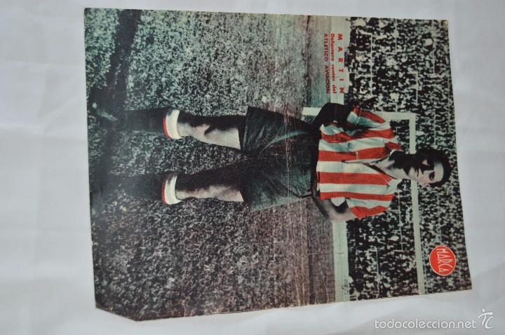 Coleccionismo deportivo: 7 Posters de MARCA de 1940s - y otros 4 de regalo - Asensi, Iriondo, Medrano, Martin, Bustos, Arza - Foto 9 - 57094140