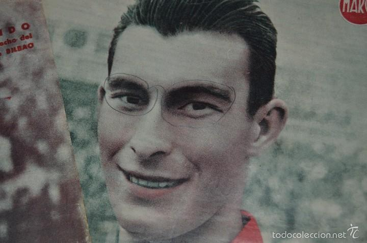Coleccionismo deportivo: 7 Posters de MARCA de 1940s - y otros 4 de regalo - Asensi, Iriondo, Medrano, Martin, Bustos, Arza - Foto 11 - 57094140