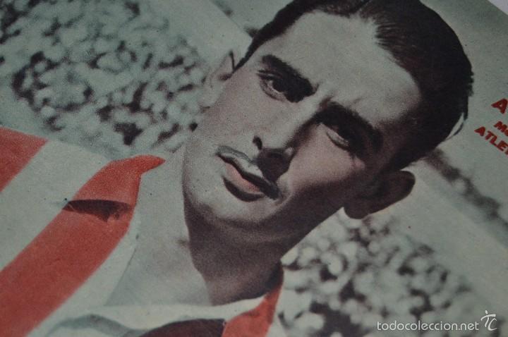 Coleccionismo deportivo: 7 Posters de MARCA de 1940s - y otros 4 de regalo - Asensi, Iriondo, Medrano, Martin, Bustos, Arza - Foto 12 - 57094140