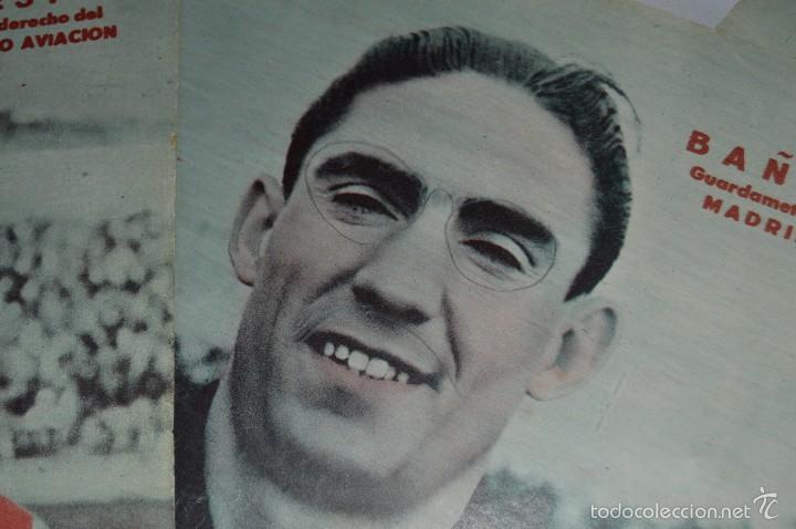 Coleccionismo deportivo: 7 Posters de MARCA de 1940s - y otros 4 de regalo - Asensi, Iriondo, Medrano, Martin, Bustos, Arza - Foto 13 - 57094140