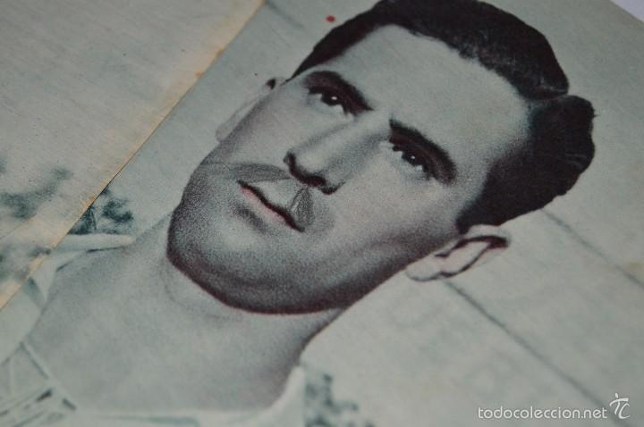 Coleccionismo deportivo: 7 Posters de MARCA de 1940s - y otros 4 de regalo - Asensi, Iriondo, Medrano, Martin, Bustos, Arza - Foto 14 - 57094140