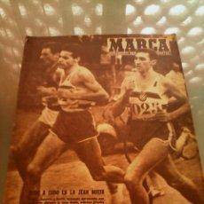 Coleccionismo deportivo: REVISTA DEPORTIVA MARCA NUM 836 9 DICIEMBRE DE 1958. EL CATALÁN MOLINS GANADOR. LEER. Lote 57253288