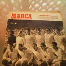 Coleccionismo deportivo: REVISTA DEPORTIVA MARCA 17 ABRIL DE 1954. CAMPEONES!!!! LEER.. Lote 57255160