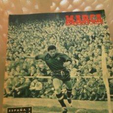 Coleccionismo deportivo: REVISTA DEPORTIVA MARCA NÚMERO ESPECIAL. 30 DE DICIEMBRE DE 1952. ESPAÑA ALEMANIA. LEER. Lote 57255402