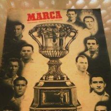 Coleccionismo deportivo: REVISTA DEPORTIVA MARCA. NÚMERO ESPECIAL. 20 DE DICIEMBRE DE 1949. COPA MARTINI ROSSI. LEER. Lote 57255461