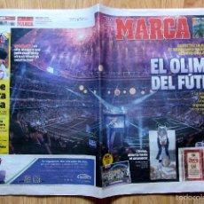 Coleccionismo deportivo: PERIODICO MARCA CELEBRACION COPA EUROPA LA UNDECIMA REAL MADRID CHAMPION UEFA CHAMPIONS LEAGUE 2016. Lote 57260256