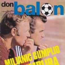 Coleccionismo deportivo: REVISTA DEPORTIVA DON BALON Nº 6. Lote 57298402