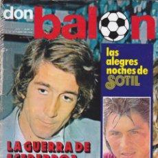 Coleccionismo deportivo: REVISTA DEPORTIVA DON BALON Nº 4. Lote 57298417