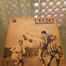 Coleccionismo deportivo: REVISTA DEPORTIVA MARCA NUM. 639 1 DE MARZO DE 1955. EMPATE EN NERVIÓN. LEER.. Lote 57301881