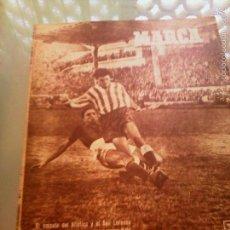Coleccionismo deportivo: REVISTA DEPORTIVA MARCA. NUM. 370 3 DE ENERO DE 1950. EMPATE DEL ATLÉTICO Y SAN LORENZO. LEER.. Lote 60381921