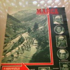 Coleccionismo deportivo: REVISTA DEPORTIVA MARCA NUM. 446 19 DE JUNIO DE 1951. CICLISMO. LEER. Lote 57303662