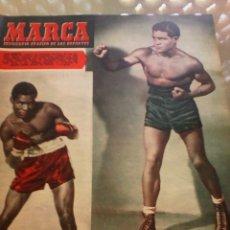 Coleccionismo deportivo: REVISTA DEPORTIVA MARCA NUM. 519 11 DE NOVIEMBRE DE 1952. BOXEO. LEER.. Lote 57303935