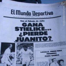 Coleccionismo deportivo: MUNDO DEPORTIVO 1983 REAL MADRID ESPAÑOL MARADONA BARÇA . Lote 57339900