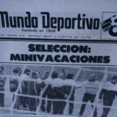 Coleccionismo deportivo: MUNDO DEPORTIVO ESPAÑA 82 22 MAYO 1982. Lote 57342469