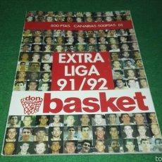 Coleccionismo deportivo: REVISTA DON BASKET 91 / 92. Lote 57353416
