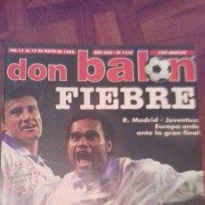 Coleccionismo deportivo: DON BALÓN NÚMERO 1178. Lote 57371717