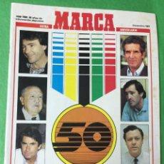 Coleccionismo deportivo: REVISTA MARCA - EXTRA 50 ANIVERSARIO -HOMENAJE A LOS HOMBRES DE ORO DEL DEPORTE ESPAÑOL - AÑO 1987. Lote 57401030