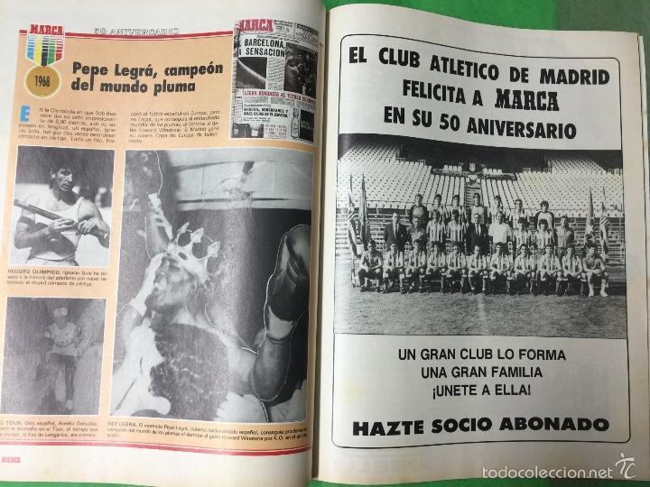 Coleccionismo deportivo: Revista Marca - Extra 50 Aniversario -Homenaje a los hombres de oro del deporte español - Año 1987 - Foto 2 - 57401030