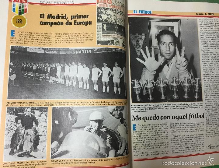 Coleccionismo deportivo: Revista Marca - Extra 50 Aniversario -Homenaje a los hombres de oro del deporte español - Año 1987 - Foto 3 - 57401030