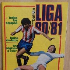 Coleccionismo deportivo: EXTRA DON BALÓN, LIGA 80/81. 128 PÁGINAS. TODOS LOS DATOS, TODOS LOS EQUIPOS. Lote 57437978