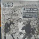 Coleccionismo deportivo: PERIODICO VIDA DEPORTIVA - EL CAMPEON DE EUROPA ACORRALADO Y DESBORDADO - 1956. Lote 57450683
