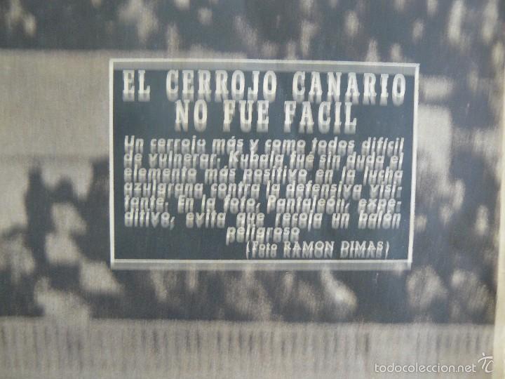 Coleccionismo deportivo: PERIODICO VIDA DEPORTIVA - EL CERROJO CANARIO NO FUE FACIL - 1958 - Foto 3 - 57450946