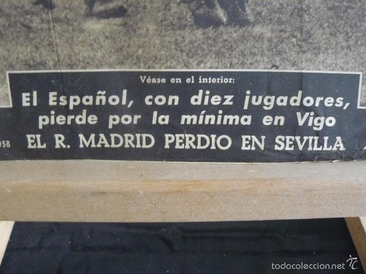 Coleccionismo deportivo: PERIODICO VIDA DEPORTIVA - EL CERROJO CANARIO NO FUE FACIL - 1958 - Foto 4 - 57450946