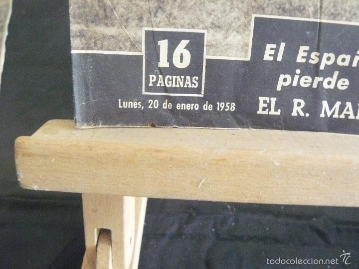 Coleccionismo deportivo: PERIODICO VIDA DEPORTIVA - EL CERROJO CANARIO NO FUE FACIL - 1958 - Foto 5 - 57450946