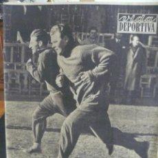 Coleccionismo deportivo: VIDA DEPORTIVA - KUBALA PRUEBA SU FORMA CON EL RÀPIDO CZIBOR - 1956. Lote 57451170