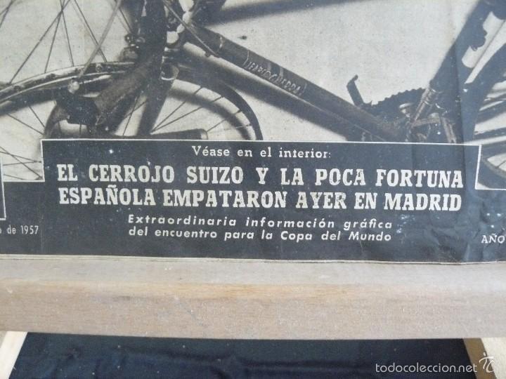 Coleccionismo deportivo: VIDA DEPORTIVA - POBLET VENCE EN LA MILAN - TURIN - 1957 - Foto 3 - 57451319