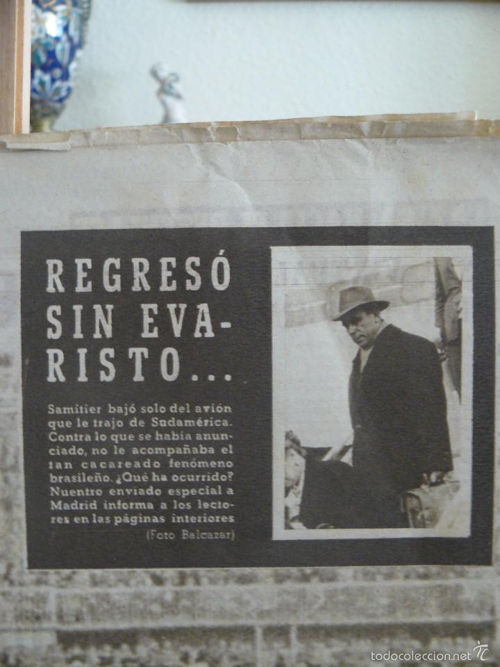 Coleccionismo deportivo: VIDA DEPORTIVA - GOL DE KUBALA ANULADO - 1957 - Foto 4 - 57451495