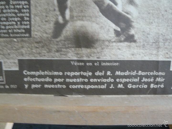 Coleccionismo deportivo: VIDA DEPORTIVA - GOL DE KUBALA ANULADO - 1957 - Foto 5 - 57451495