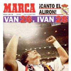 Coleccionismo deportivo: DIARIO MARCA REAL MADRID CAMPEON LIGA 94/95 COPIA FACSIMIL TEMPORADA 1994/1995 - 32 LIGAS BLANCAS. Lote 57567054