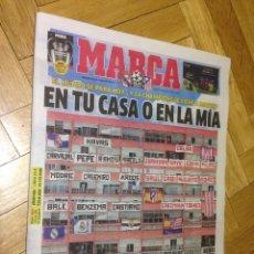 Coleccionismo deportivo: DIARIO MARCA FINAL CHAMPIONS MILAN ATLETICO MADRID REAL MADRID 28 MAYO 2016. Lote 57594510