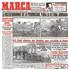 Coleccionismo deportivo: DIARIO MARCA REAL MADRID CAMPEON LIGA 54/55 FACSIMIL TEMPORADA 1954/1955 - 32 LIGAS BLANCAS. Lote 57626436